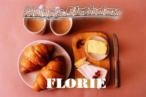 Happy Birthday Wishes for Florie