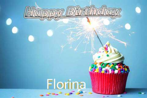 Happy Birthday Wishes for Florina