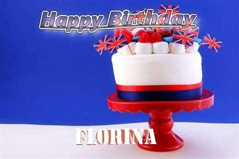 Happy Birthday to You Florina