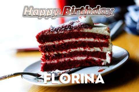 Happy Birthday Cake for Florina
