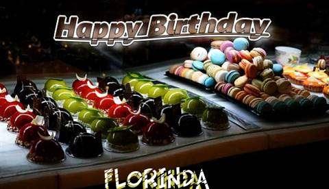 Happy Birthday Cake for Florinda