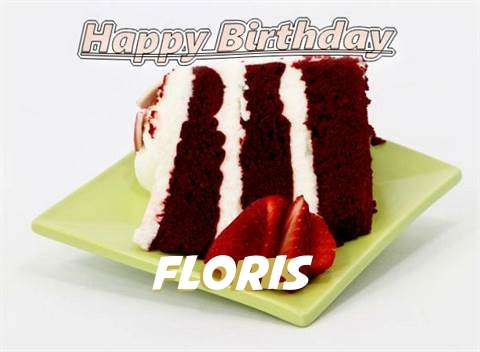 Birthday Wishes with Images of Floris