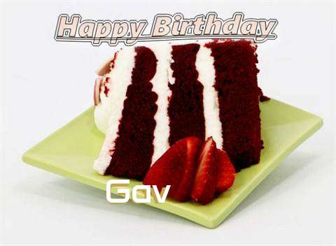 Birthday Wishes with Images of Gav