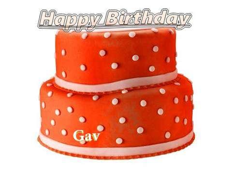 Happy Birthday Cake for Gav