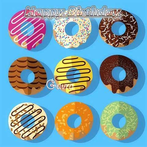Happy Birthday Gavra Cake Image