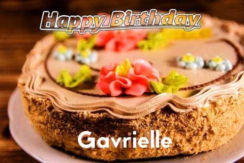 Happy Birthday Gavrielle