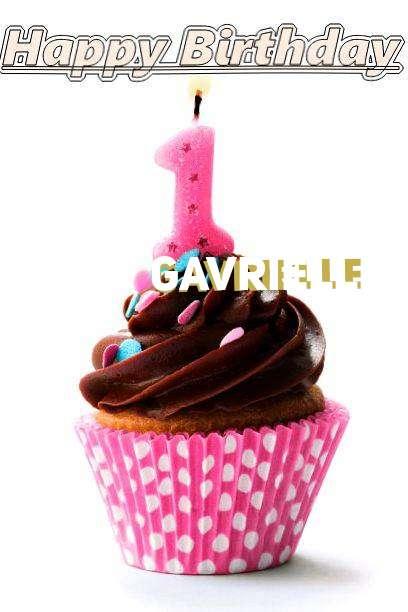 Happy Birthday Gavrielle Cake Image