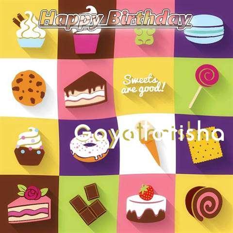 Happy Birthday Wishes for Gayatarisha