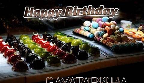 Happy Birthday Cake for Gayatarisha