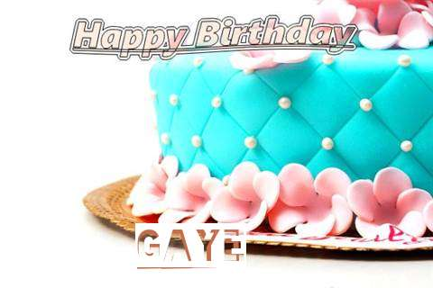Birthday Images for Gaye