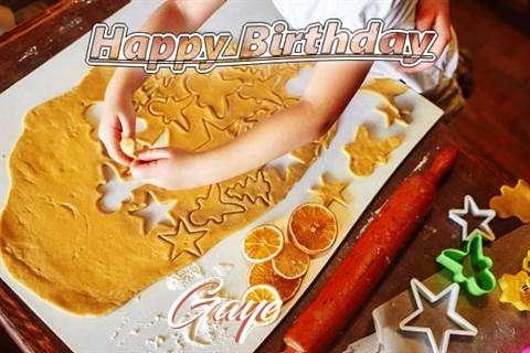 Gaye Birthday Celebration