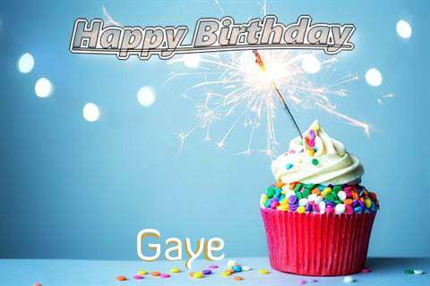 Happy Birthday Wishes for Gaye