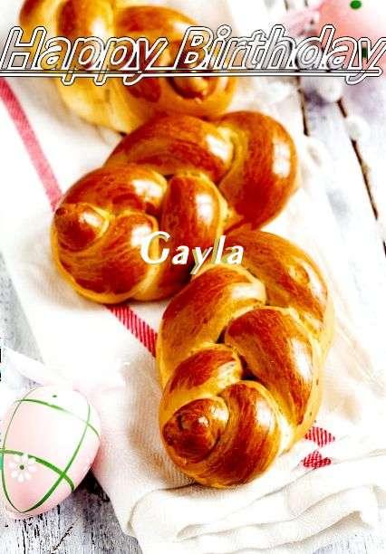 Happy Birthday Wishes for Gayla