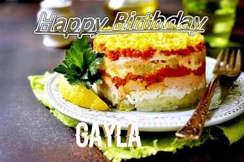 Happy Birthday to You Gayla