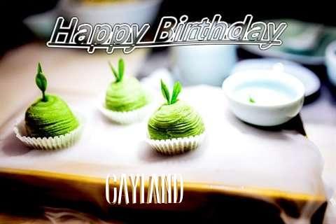 Happy Birthday Wishes for Gayland