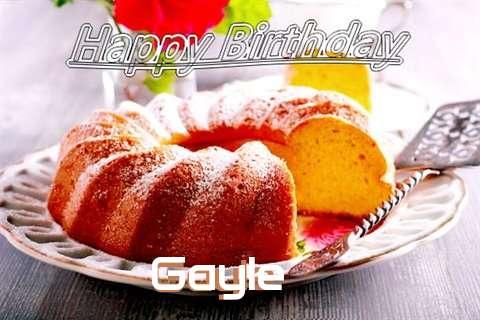 Gayle Birthday Celebration