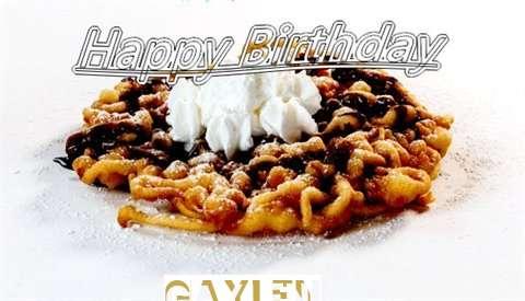 Happy Birthday Wishes for Gaylen