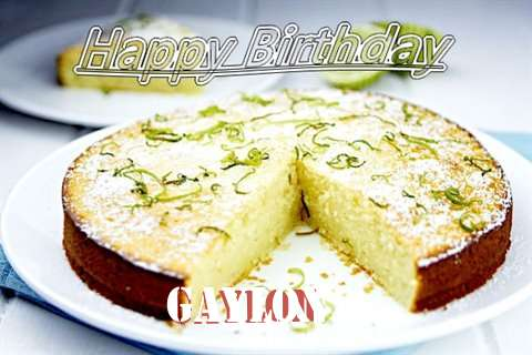 Happy Birthday Gaylon