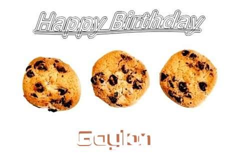 Gaylon Cakes