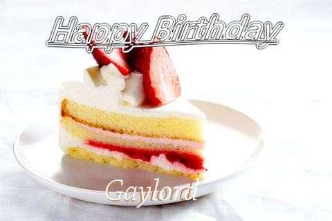 Happy Birthday Gaylord