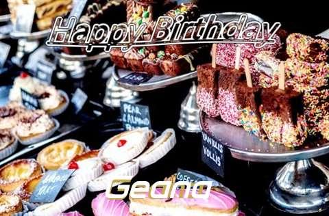 Happy Birthday to You Geana