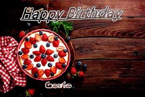 Happy Birthday Geanie Cake Image