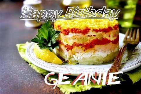 Happy Birthday to You Geanie