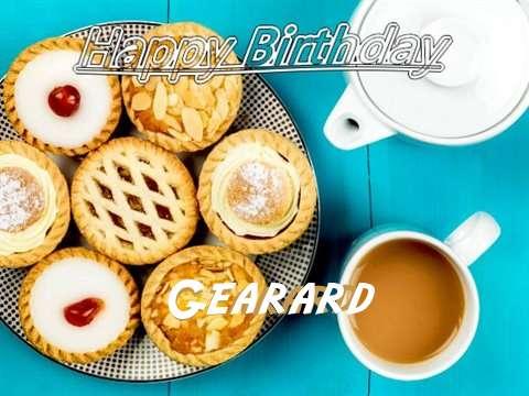 Happy Birthday Gearard