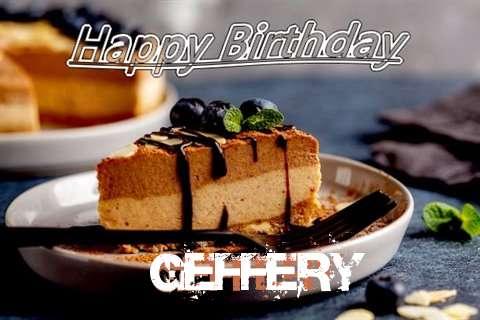 Happy Birthday Geffery Cake Image