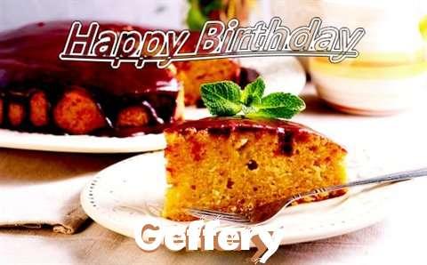 Happy Birthday Cake for Geffery