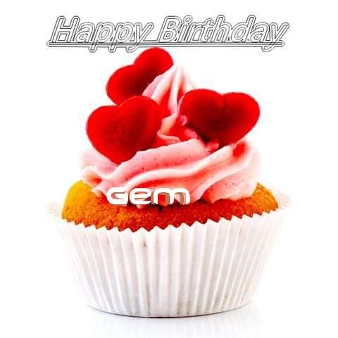 Happy Birthday Gem