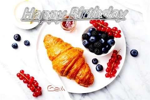 Birthday Images for Gem