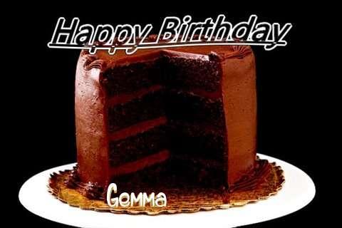 Happy Birthday Gemma Cake Image