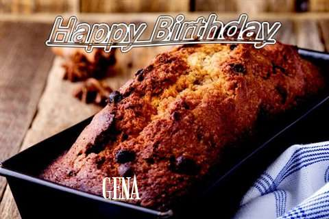 Happy Birthday Wishes for Gena