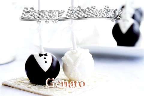 Happy Birthday Genaro