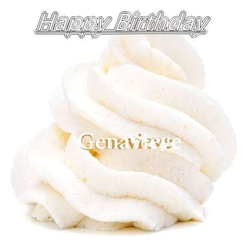 Happy Birthday Wishes for Genavieve