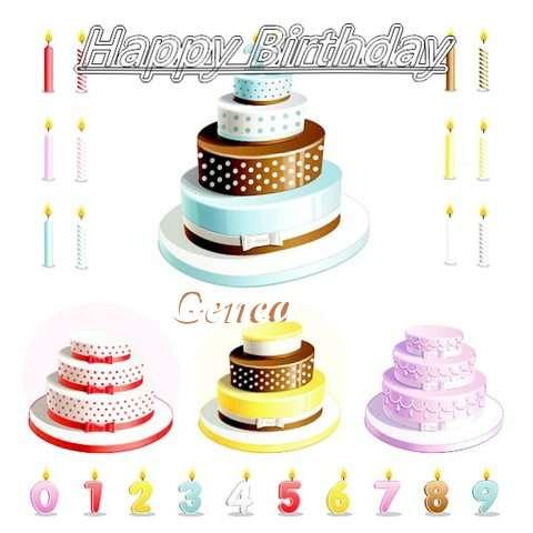 Happy Birthday Wishes for Genea