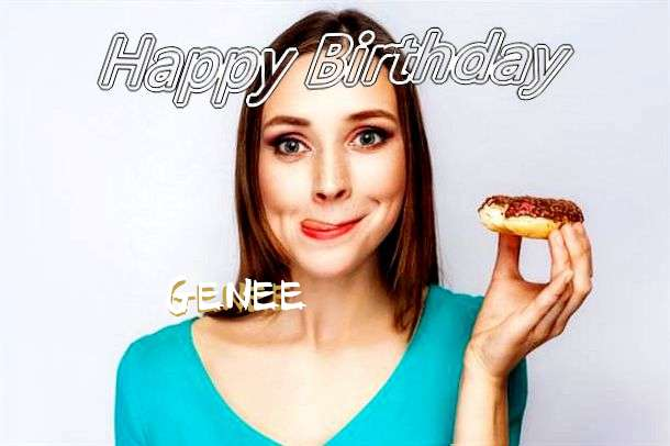 Happy Birthday Wishes for Genee