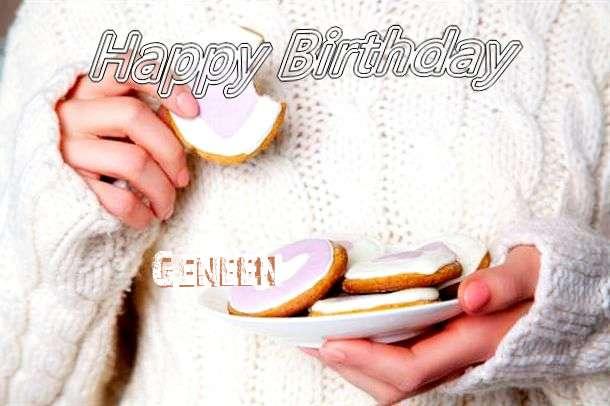 Happy Birthday Geneen