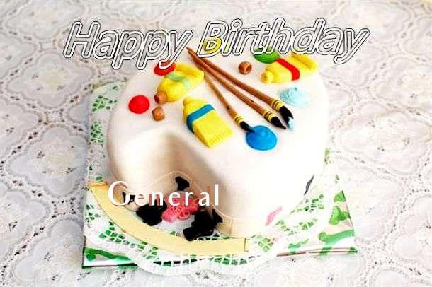 Happy Birthday General