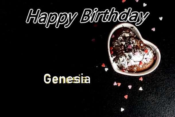 Happy Birthday Genesia