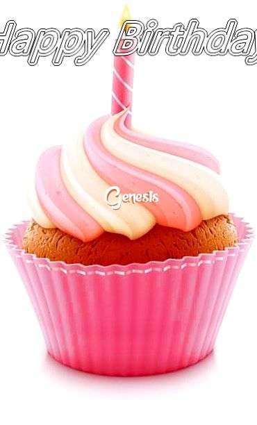 Happy Birthday Cake for Genesis