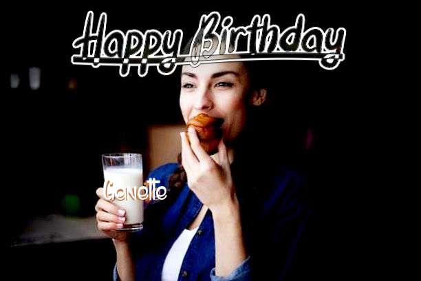 Happy Birthday Cake for Genette