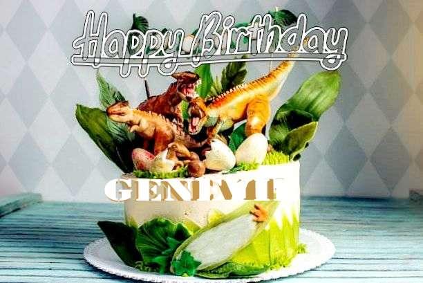Happy Birthday Wishes for Genevie