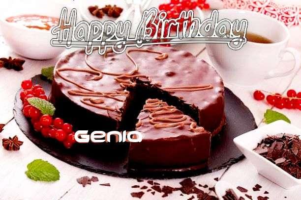 Happy Birthday Wishes for Genia