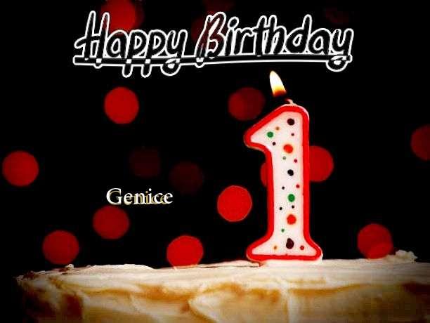 Happy Birthday to You Genice