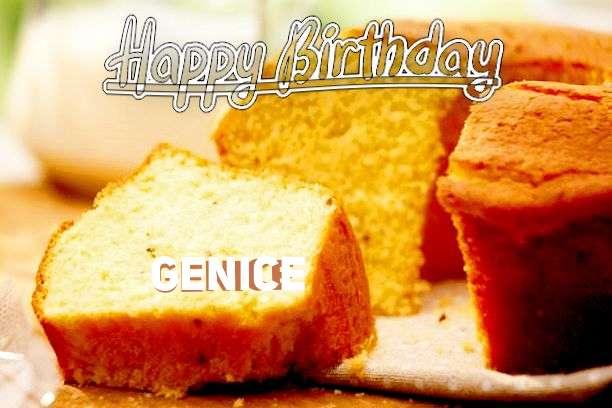Happy Birthday Cake for Genice