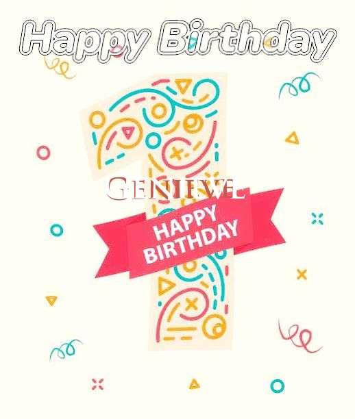Happy Birthday Genieve
