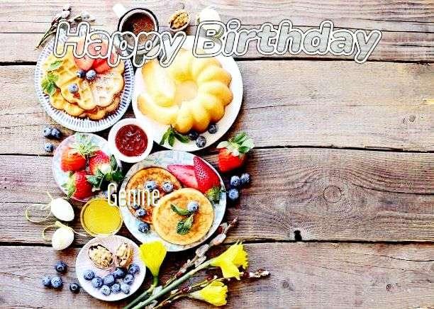 Happy Birthday Genine