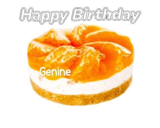 Birthday Images for Genine